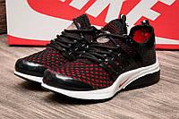 Кроссовки детские Nike Air Presto Flyknit Ultra черные с красным