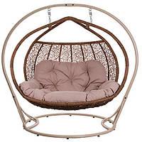 Кресло-кокон Галант 2-местный с подушкой
