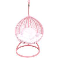 Кресло-кокон Кид розовое с подушкой