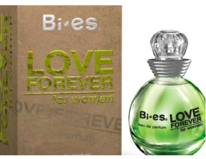 Женская туалетная вода LOVE FOREVER GREEN (Bi-es) 100мл