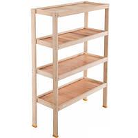 Стеллаж деревянный 120х80х30 см