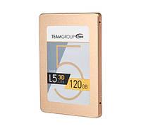 SSD 120Gb, Team L5 Lite 3D, SATA3, 2.5', 3D TLC, 470/300 MB/s (T253TD120G3C101)