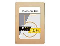 SSD 240Gb, Team L5 Lite 3D, SATA3, 2.5', 3D TLC, 470/400 MB/s (T253TD240G3C101)