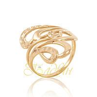 Золотое кольцо с алмазной гранью П10440A