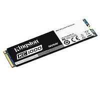 SSD M.2 240Gb, Kingston KC1000, PCI-E 4x, MLC, 2700/900 MB/s (SKC1000/240G)