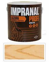 Стойкий лак-лазурь Impranal Profi Прозрачный с УФ фильтром 2,5л