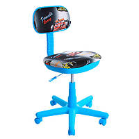Кресло детское АМФ Свити голубые машинки N80323937