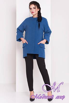 Женское демисезонное кашемировое пальто (р. S, M, L) арт. Кадис Турция 18165, фото 2