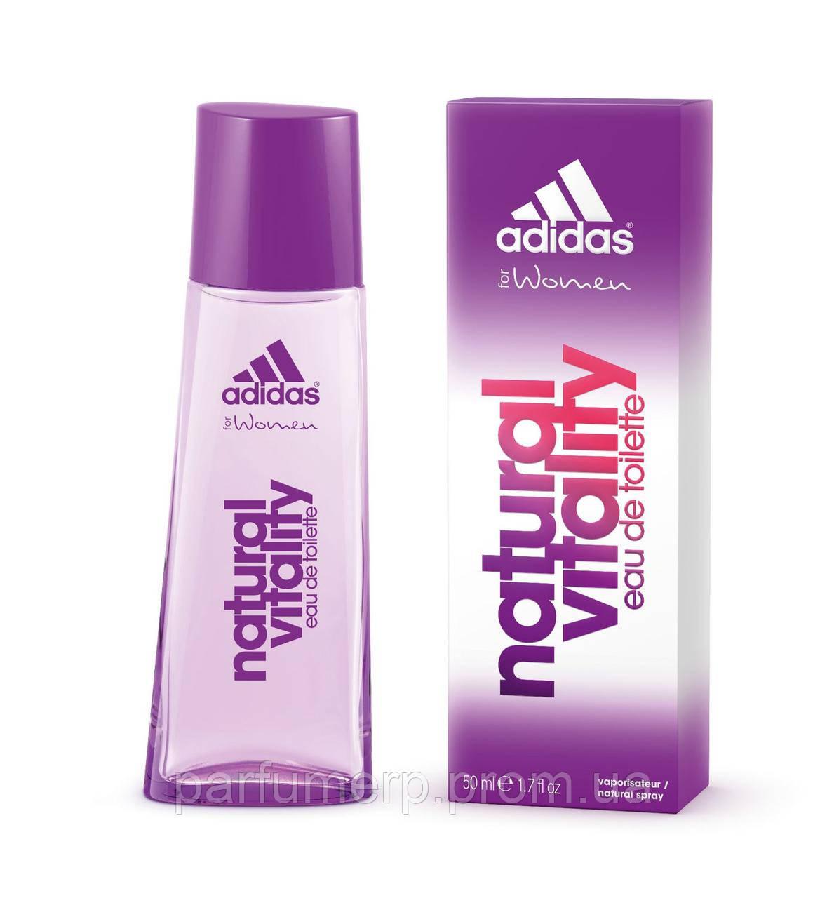 Adidas Natural Vitality (50мл), Женская Туалетная вода  - Оригинал!