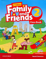 Family and Friends 2 Second Edition Class Book + MultiRom
