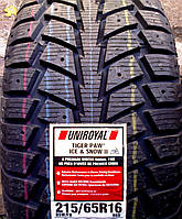 Шины 215/65 R16 98S Uniroyal Tiger Paw Ice Snow II