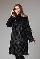 Шуба-пальто из нутрии 95 см
