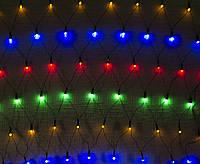 Светодиодная Сетка 150х150см, 120 LED, белая, синяя, мультиколор
