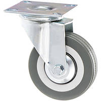 Колесо поворотное с платформой O 75 мм