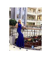 """Платье длинное """"Величие"""", коктейльное длинное нарядное платье."""
