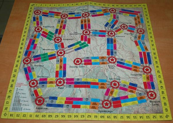 Настольная игра Дикий Запад. Железные дороги. Ариал, фото 2
