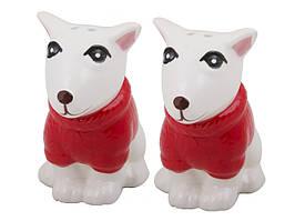 Набор для специй 2 предмета керамический Собаки 940-030