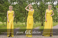 """Платье длинное """"Виктори"""", красивое длинное нарядное платье. Разные цвета, размеры."""