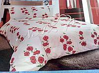 Яркий качественный постельный комплект бязь гольд