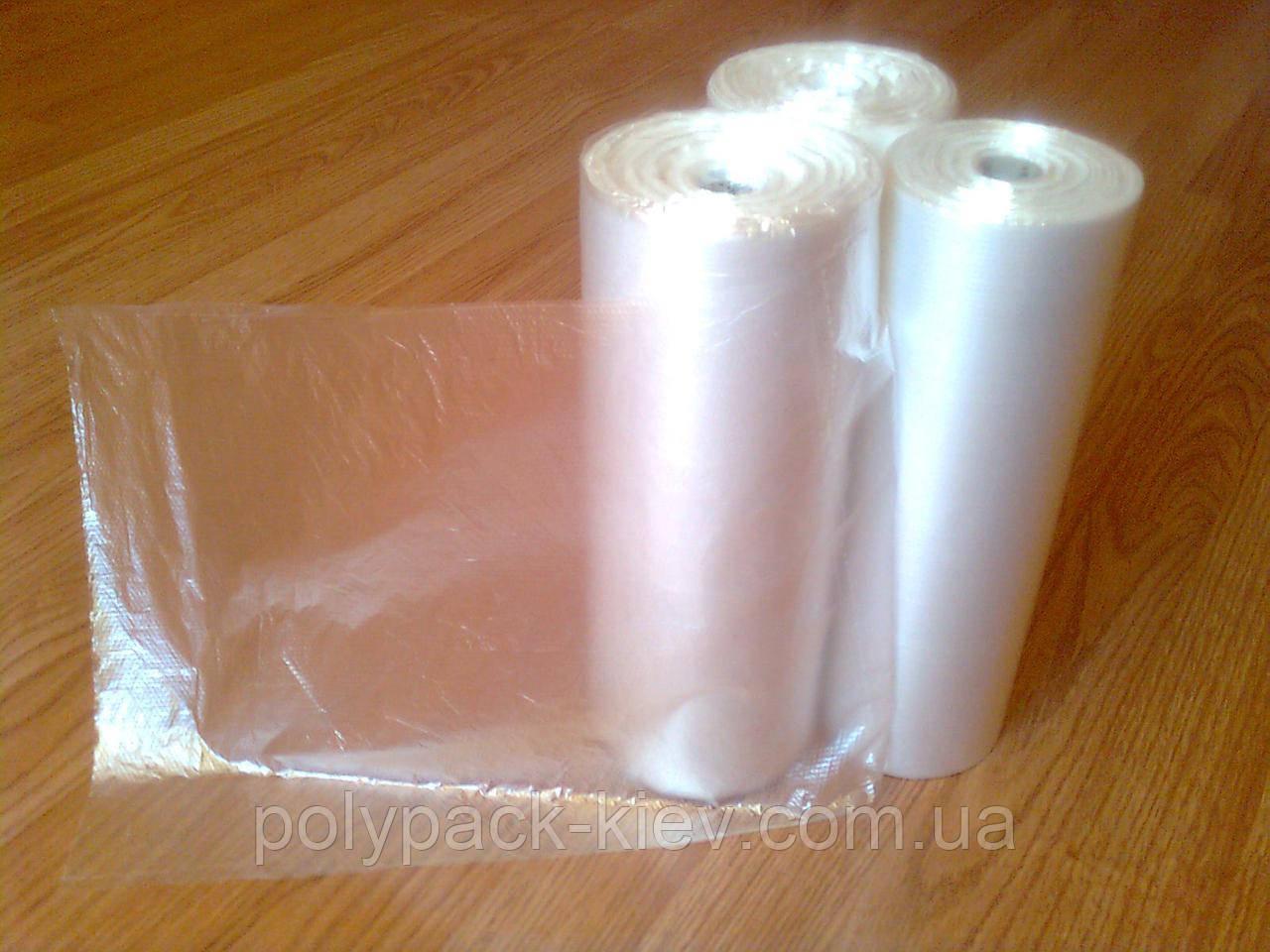 Пакет в рулоне без ручек 26*40 см фасовочный 1000 шт рулон, прочные фасовочные полиэтиленовые пакеты в рулонах