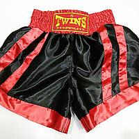 Шорты для тайского бокса Black .