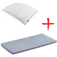 Матрас Dormeo Roll Up Comfort 160x200 см + подушка Dormeo Злата Классическая 50x70 см N51938299