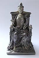 """Античная статуэтка """"Фортуна на троне"""""""