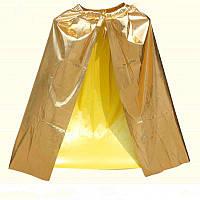 Накидка Ведьмы, Вампира, плащ,цвет золото, серебро на хэллоуин  - оригинальный аксессуар для вашего стиля!