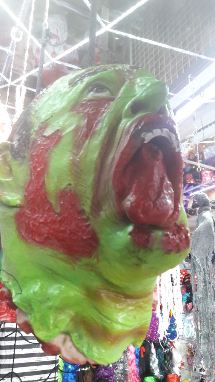 Голова Зомби на Хэллоуин