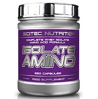 SciTec Nutrition Isolate Amino 250 caps.