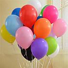 Кульки з гелієм 30 див. салатові, фото 2