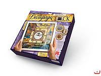 Набор для творчества Decoupage Clock Венеция с рамкой, Danko Toys, DKС-01-01