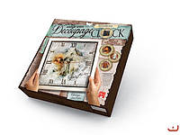 Набор для творчества Decoupage Clock Свобода с рамкой, Danko Toys, DKС-01-02