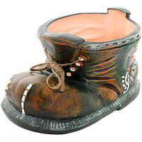 Кашпо керамическое Башмак