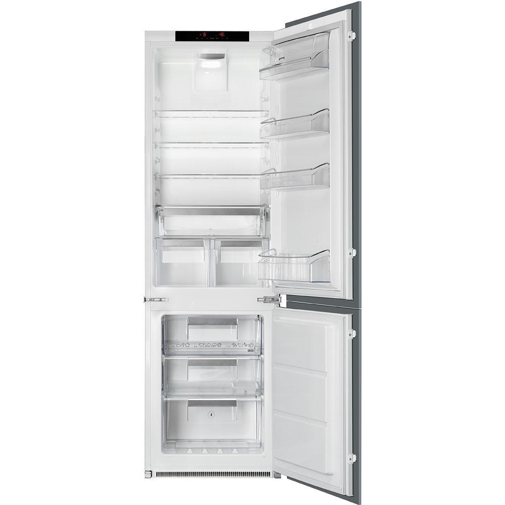 Встраиваемый холодильник с морозильником Smeg C7280NLD2P1