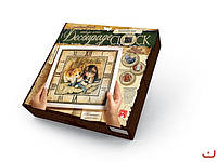 Набор для творчества Decoupage Clock Котята с рамкой, Danko Toys, DKС-01-03