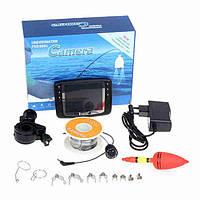 Подводная камера Eyoyo 1000TVL с 3,5 дюймовым цветным LCD монитором