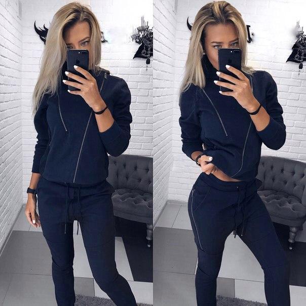 b7e02290 Женский спортивный костюм трехнитка на флисе , цена 741 грн., купить в  Киеве — Prom.ua (ID#598504530)