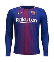 Футбольная форма 2017-2018 Барселона (Barcelona) домашняя