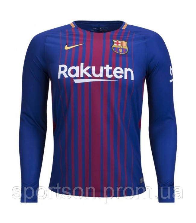 Футбольная форма 2017-2018 Барселона (Barcelona) домашняя  продажа ... 895b98b9162
