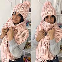 Шапка женская (в комплекте шарф)