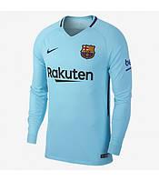 Футбольная форма 2017-2018 Барселона (Barcelona) выездная