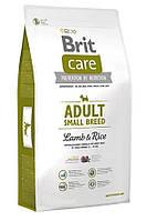 Brit Care Adult Small Breed Lamb & Rice Корм для взрослых собак мелких пород с ягненком и рисом 3кг