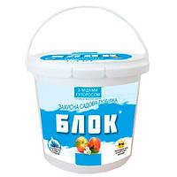 Защитная садовая краска Блок с медным купоросом 1.4 кг