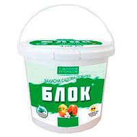 Защитная садовая краска Блок с железным купоросом 1.4 кг