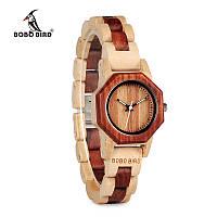 Эксклюзивные часы ручной работы из дерева Bobo Bird B10