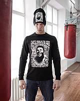 Свитшот свитер кофта мужской модный стильный качественный с принтом Мохаммед Али, фото 1