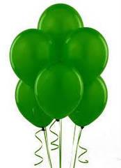 Шарики с гелием  30 см., зеленый