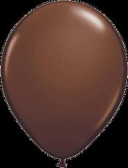 Шарики с гелием  30 см., коричневый