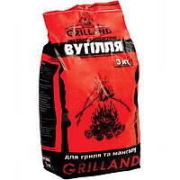 Уголь древесный Grilland 3 кг